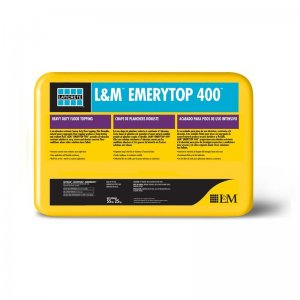 Laticrete L&M Emerytop 400 - Concrete Floor Topping - 55 lb