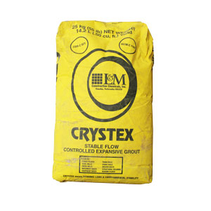 Laticrete L&M Crystex - Expansive Grout - Portland Cement - 55lb Bag